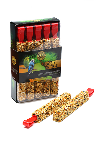 Goldwings Premium Budgie Honey  Stick (10 pcs ) 0.04GR X 10PCS