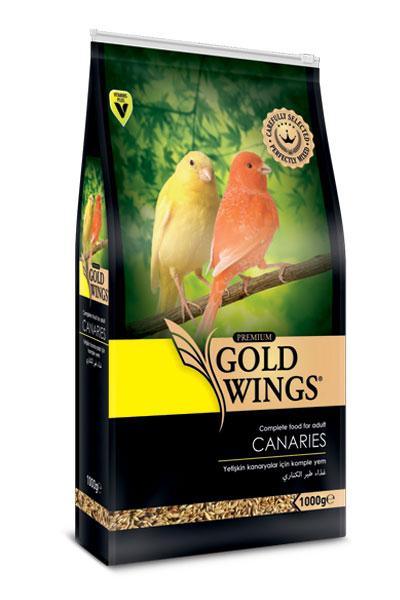 Goldwings Premium Canary Food 1 kg (5 pcs)