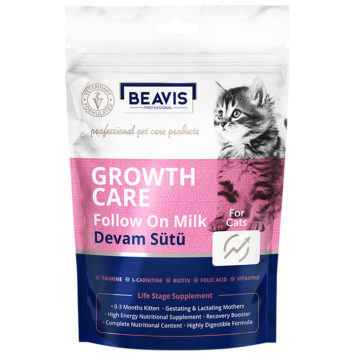 Growth Care Kitten Cat Follow on Milk 200 gr