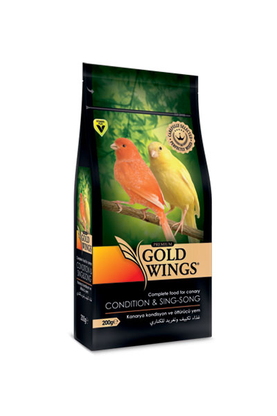 Goldwings Premium Canary Condition Food 200 g. (6 pcs)