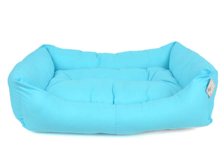 TEXTURE BED NO : 4 BLUE 90x70x20 cm