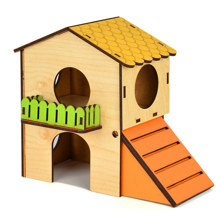 Hamster House Two Floors Small