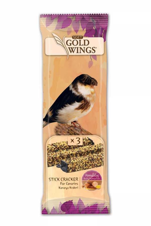 Goldwings Canary Honey Triple Stick (10 pcs) 0.105GRX10PCS