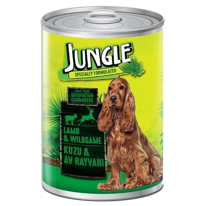 Jungle Dog Cans 415 gr Lamb-Wildgame (24Pcs)
