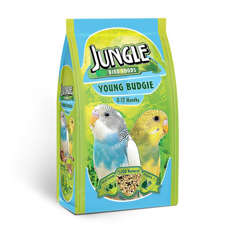 Jungle Young Budgie 400 g.6pcs