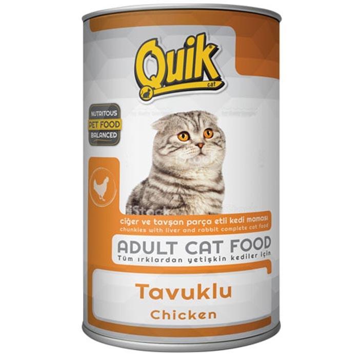 QUIK CAT 415 gr chicken  (24Pcs)