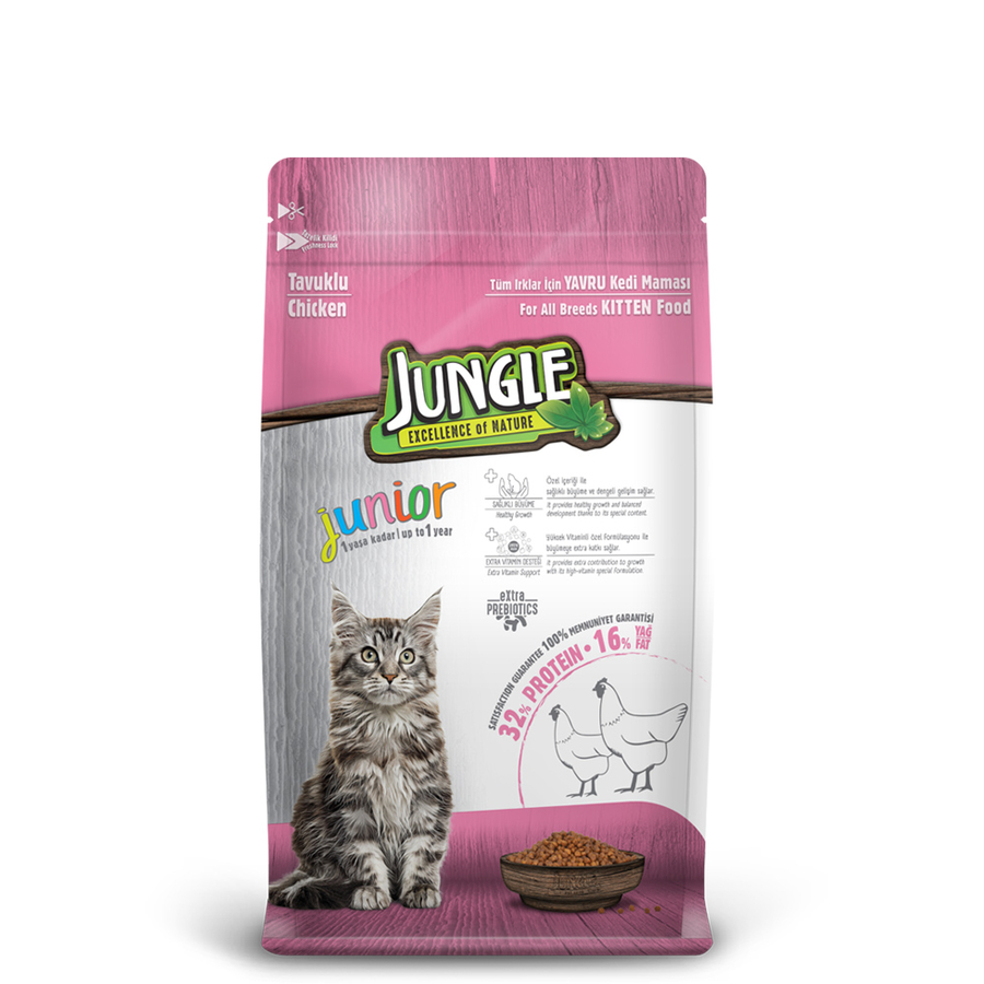 Jungle Kitten with Chicken 1,5 kg