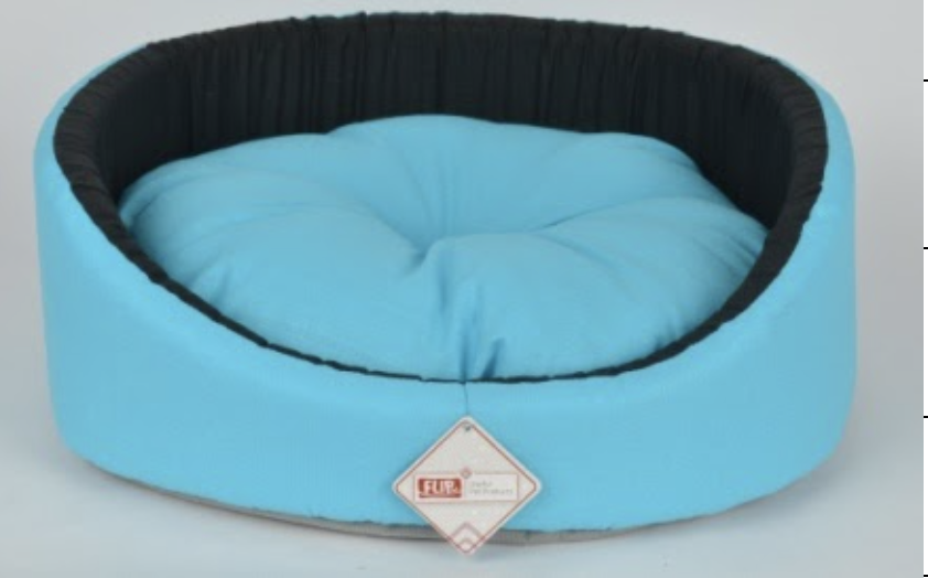 BUTTERFLY RING SHAPED BED BLUE 50X16CM