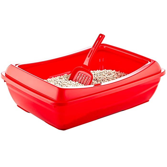 Cat Litter Tray ( Recycled Raw Material )