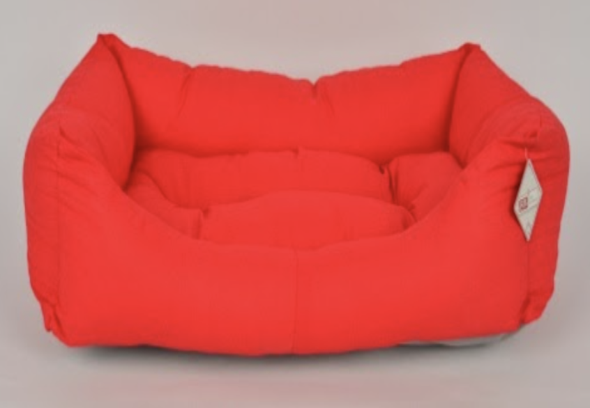 TEXTURE BED NO : 1 RED 55X40X15 CM