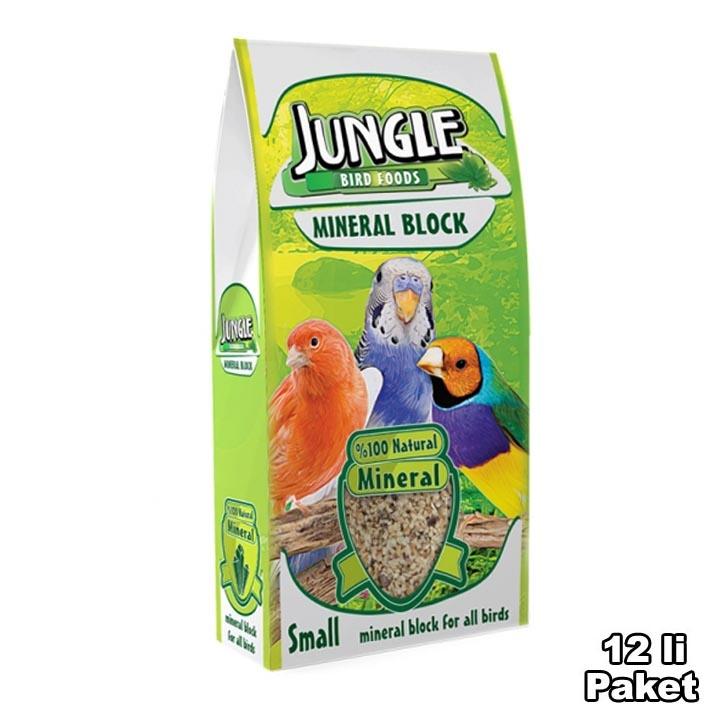 Jungle Mineral Block Small 12 pcs  0.076grc12pcs