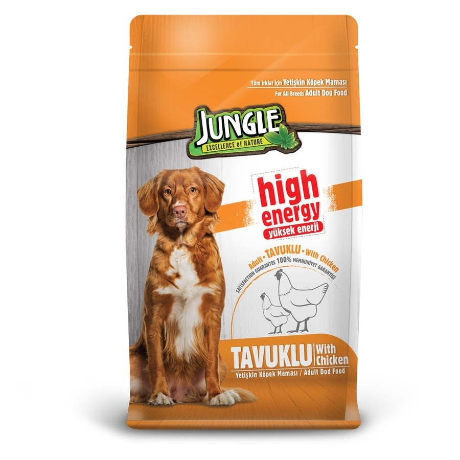 Jungle Adult Dog Food with Chicken 15 kg