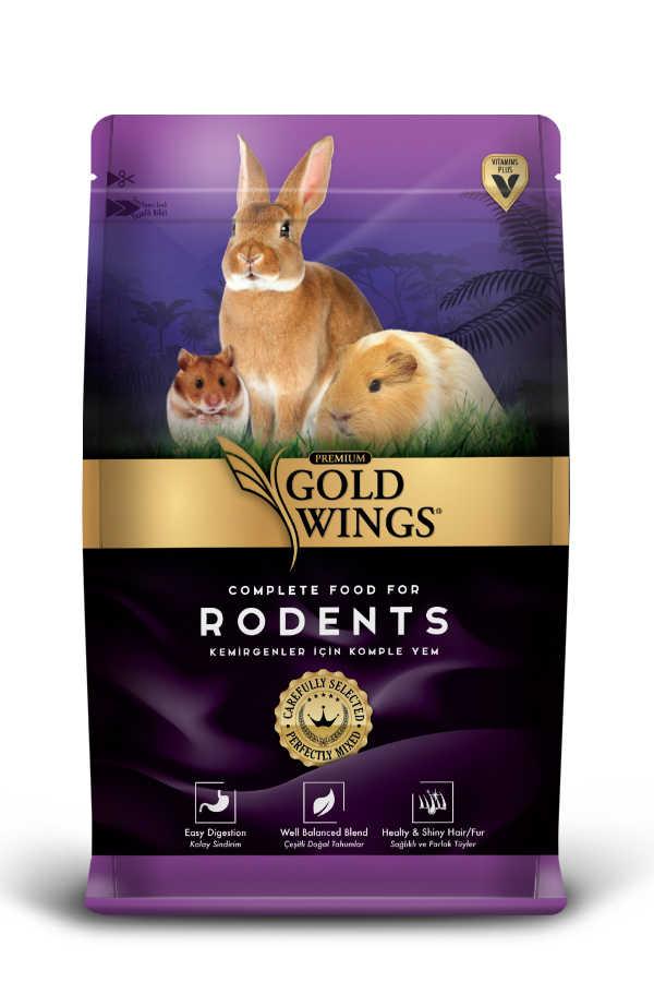 Goldwings Premium Rodents Food 0,75 kg (5 pcs)