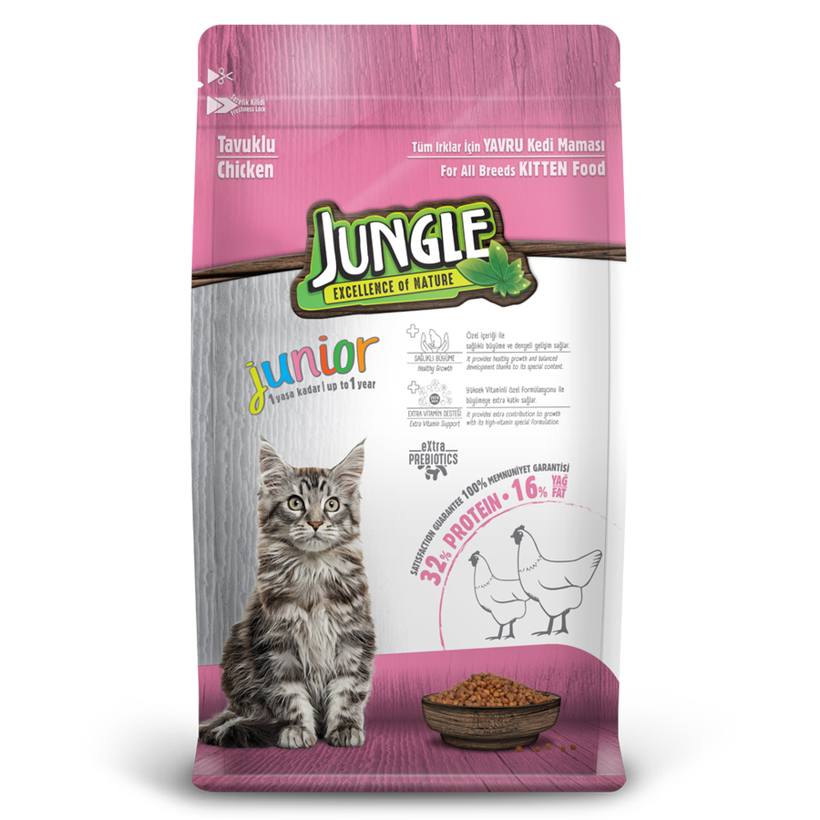 Jungle Kitten with Chicken 15 kg