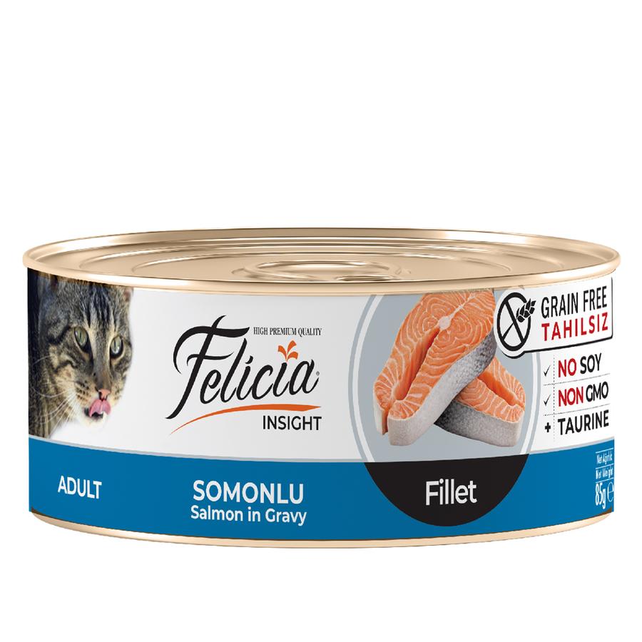 Felicia Adult  Salmon in Gravy 85gr 24pcs
