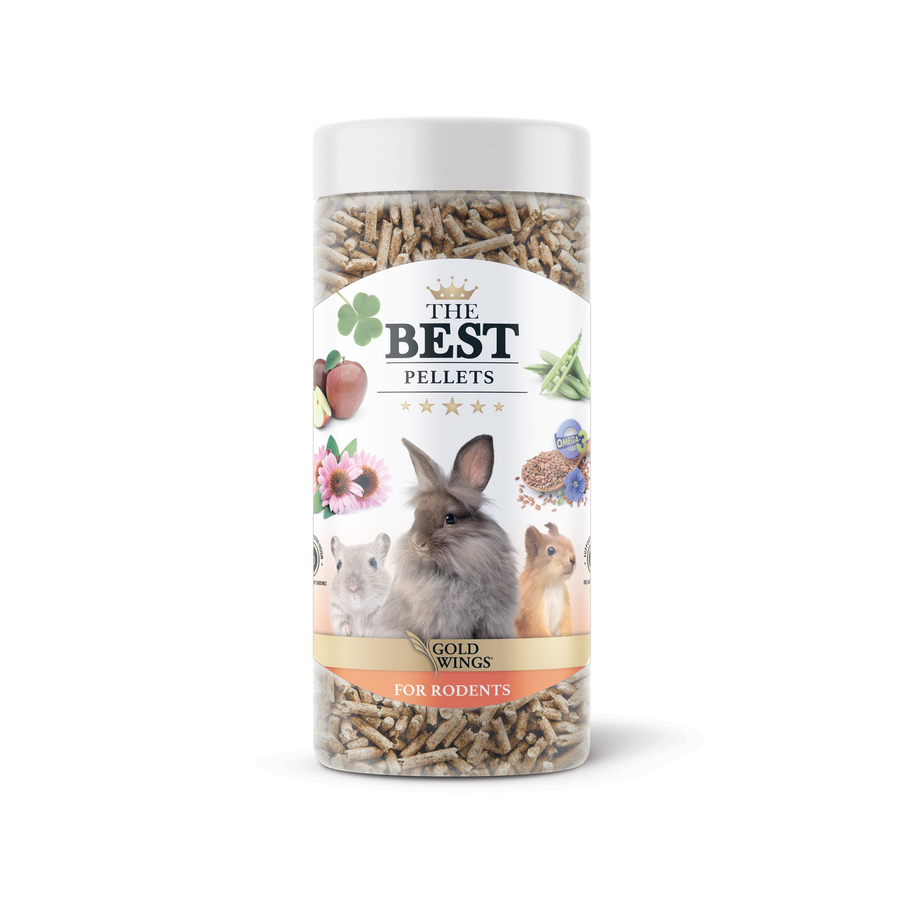 The Best Rodent Pellets 200 gr 6 Adet
