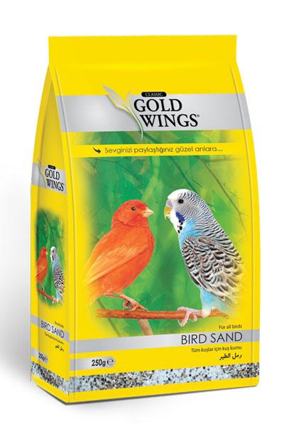 Goldwings Classic Bird Sand 250 g. (12 pcs)