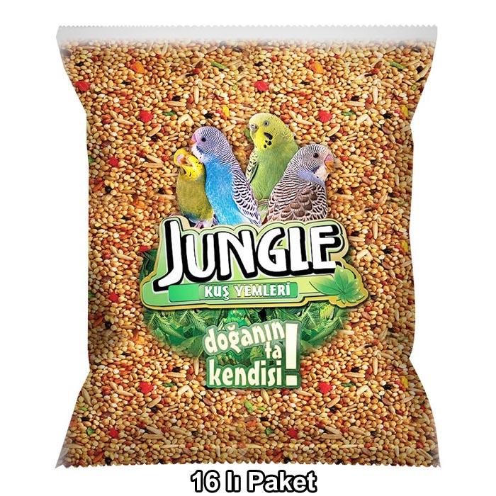 Jungle Budgie Food Bag 1000 g. 16 pcs