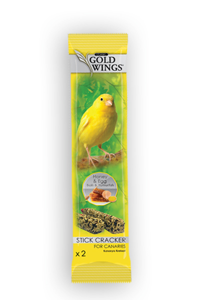 Goldwings Classic Canary Honey and Egg Double Stick (10 pcs) 0.08GRX10PCS