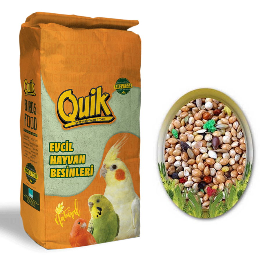 Q100 Lux Budgie Food with Fruit 20 kg