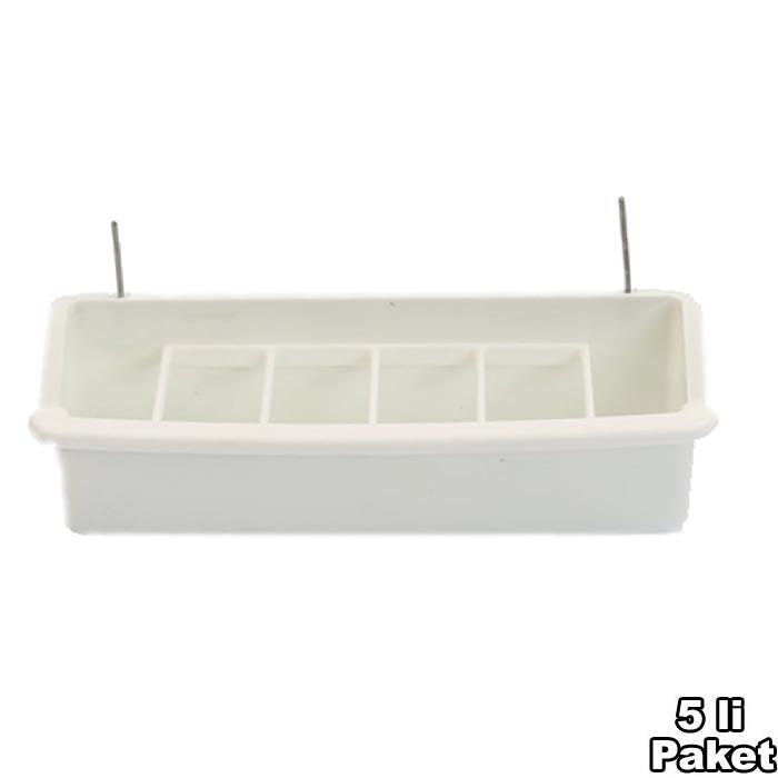 Grid Feeder White 15 cm 5 pcs