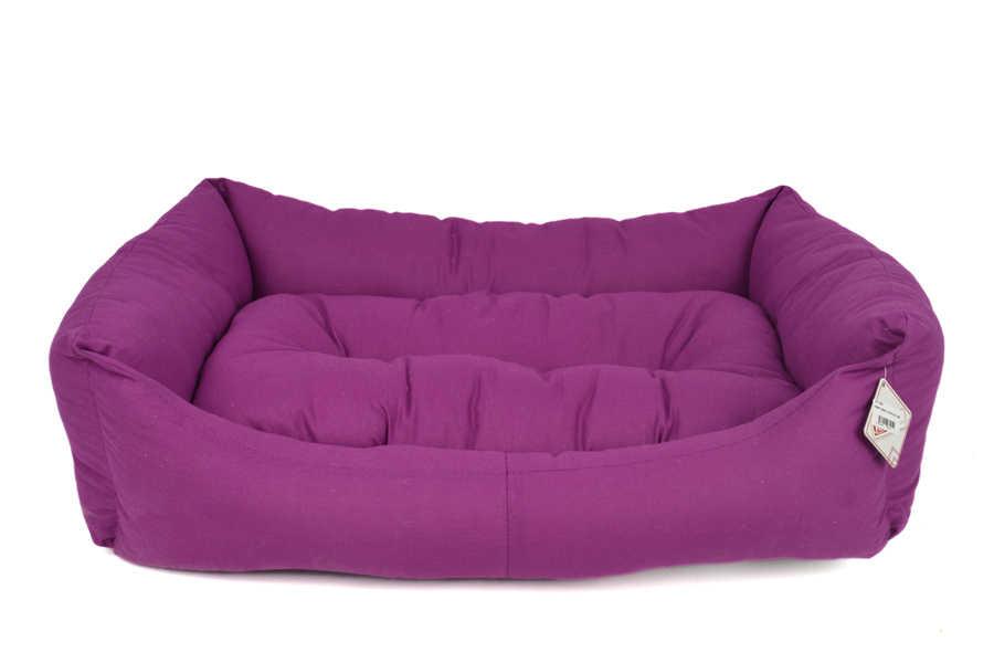TEXTURE BED NO : 4 PLUM 90x70x20 cm