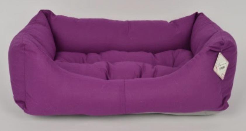 TEXTURE BED NO : 3 PLUM 80x55x20 cm