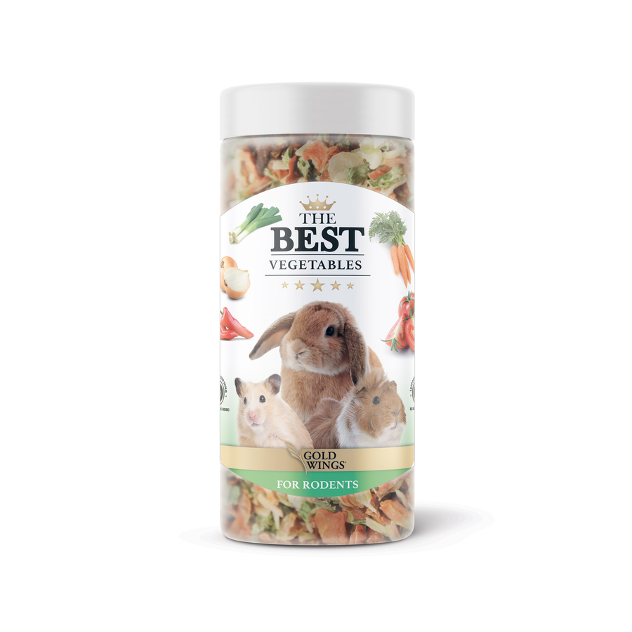 The Best Rodent Vegetable Snack 100 gr 6 pcs