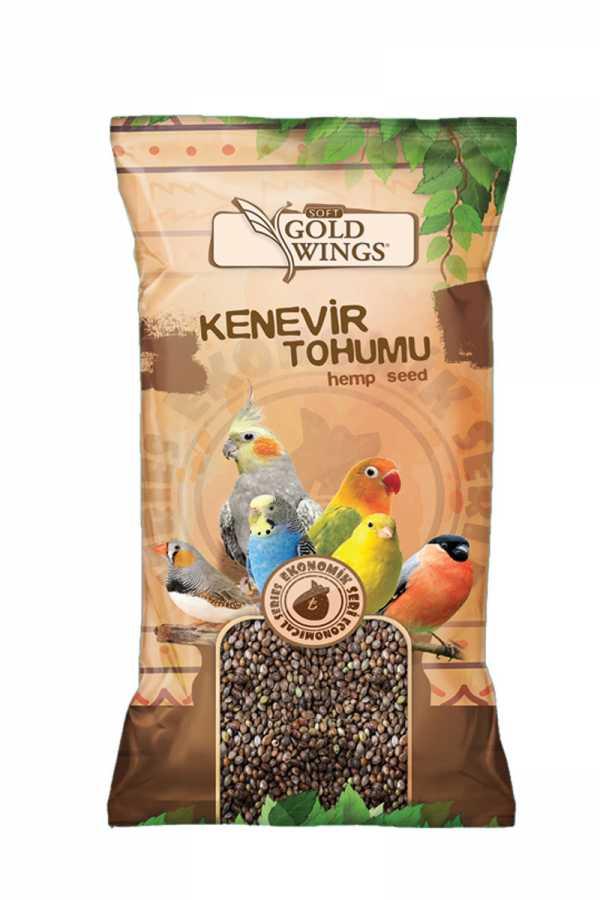 Goldwings Soft Hemp Seed 200 g. (20 pcs)