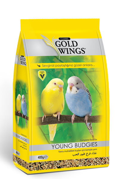 Goldwings Classic Young Budgie Food 400 g. (6 pcs)