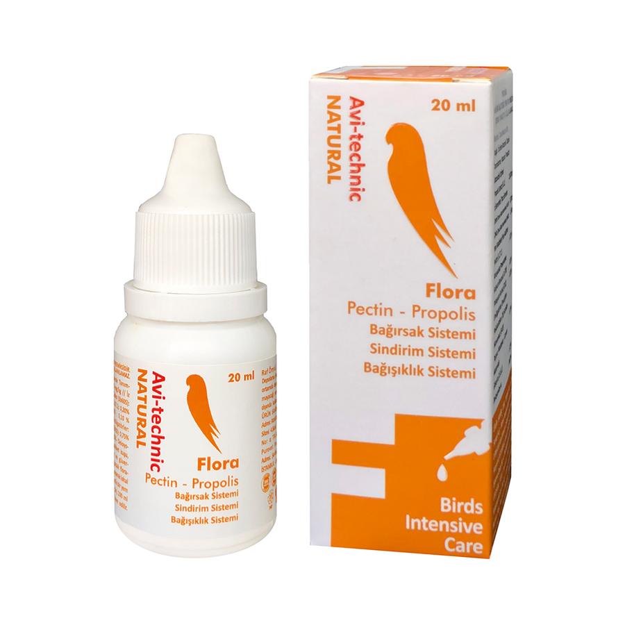 Vitamin F Flora (Bağışıklık Sistemi) 20cc-6 Adet