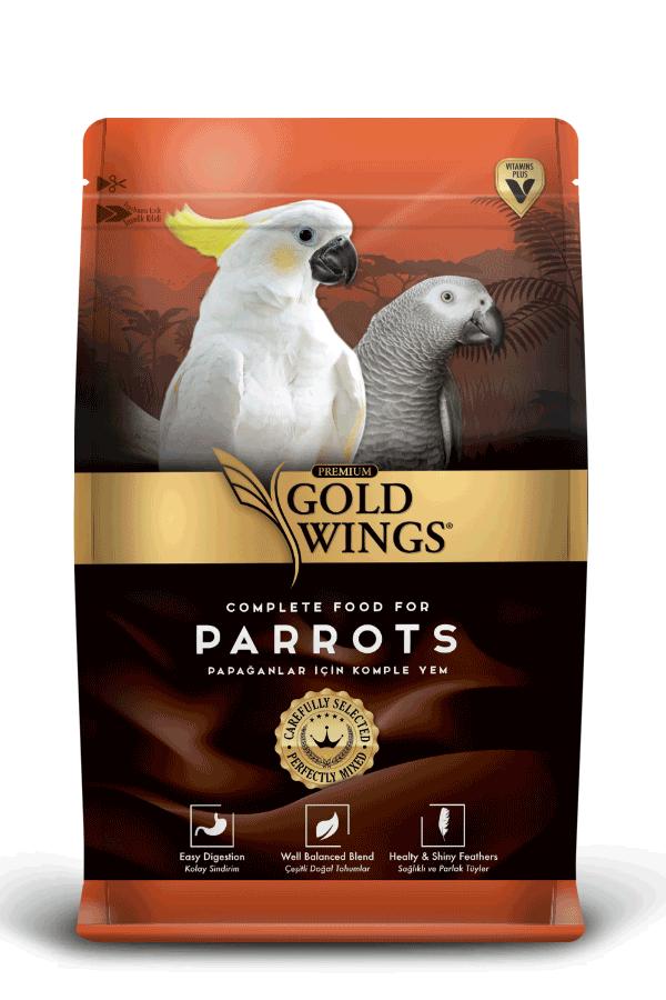 Goldwings Premium Parrot Food 750 g (5 pcs)