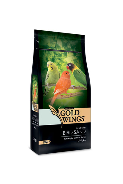 Goldwings Premium Bird Sand 350 g. (6 pcs)