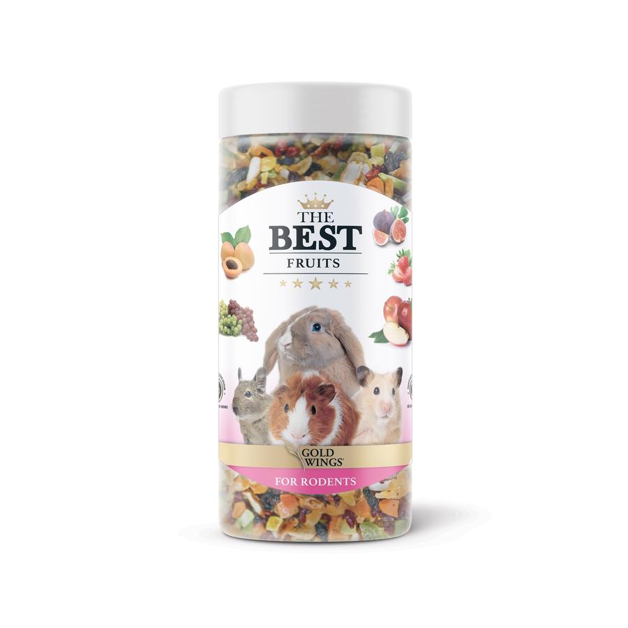 The Best Rodent Fruit Snack 150 gr 6 pcs