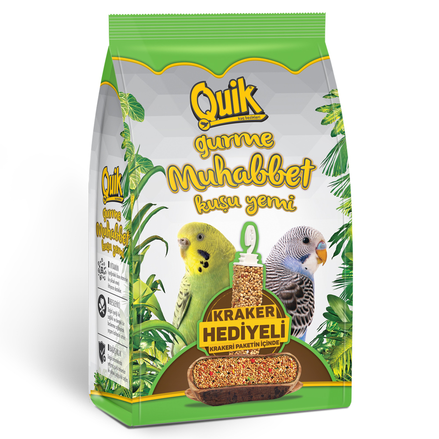 Quik Budgie Food with Stick 500 g (12 PCS)