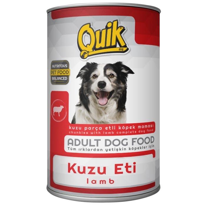 QUIK DOG 415 gr LAMB  (24Pcs)