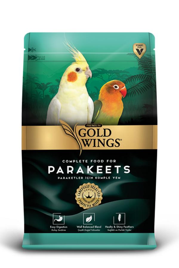 Goldwings Premium Parakeet Food 1 kg (5 pcs)