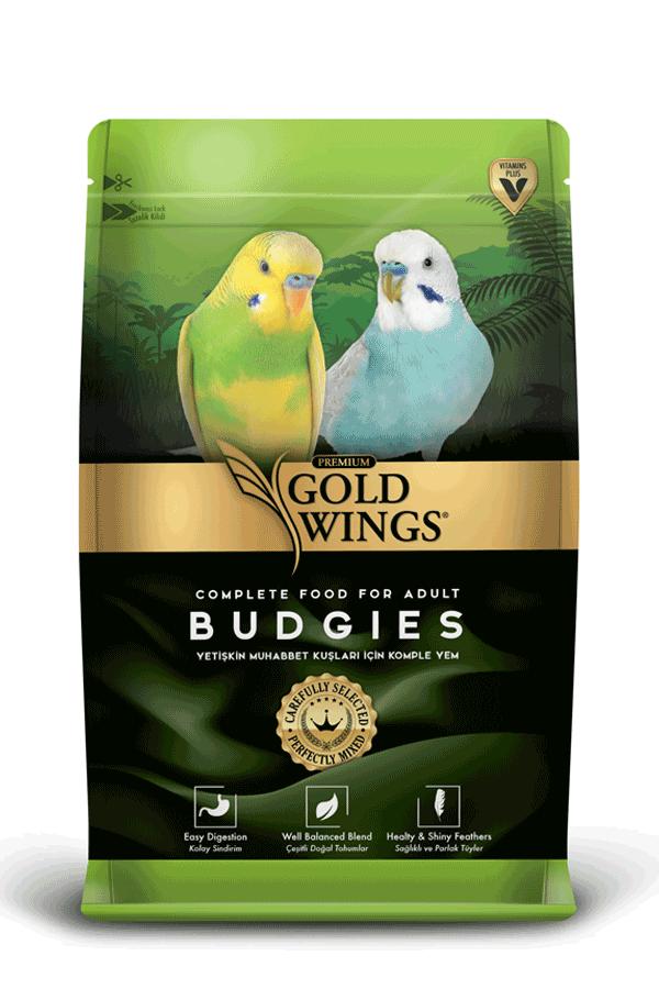 Goldwings Premium Budgie Food 1 kg (5 pcs)