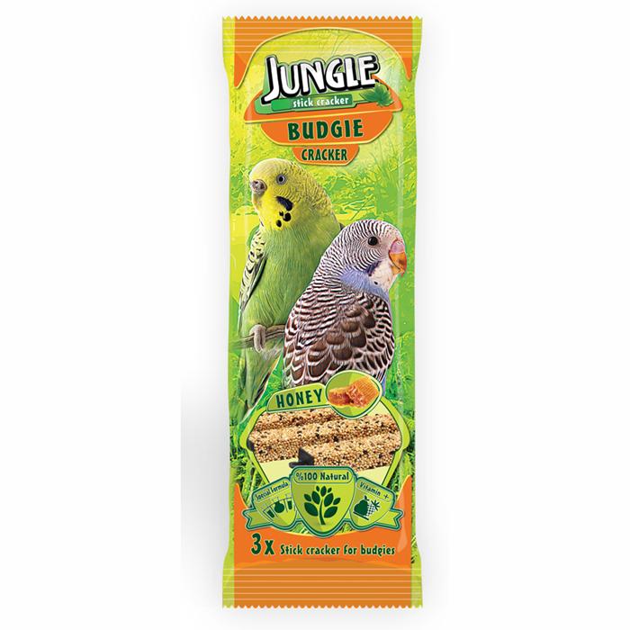 Jungle Budgie Honey Triple Stick 10 pcs 0.095x10pcs