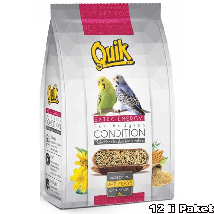 Quik Activity Food 150 g. (12 PCS)