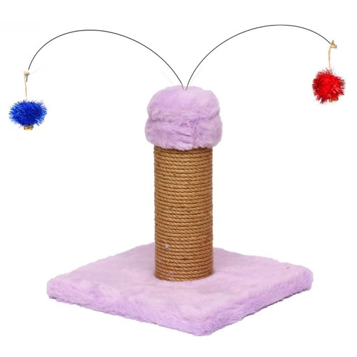Flip Short Two Toy Scratching Post 35CM
