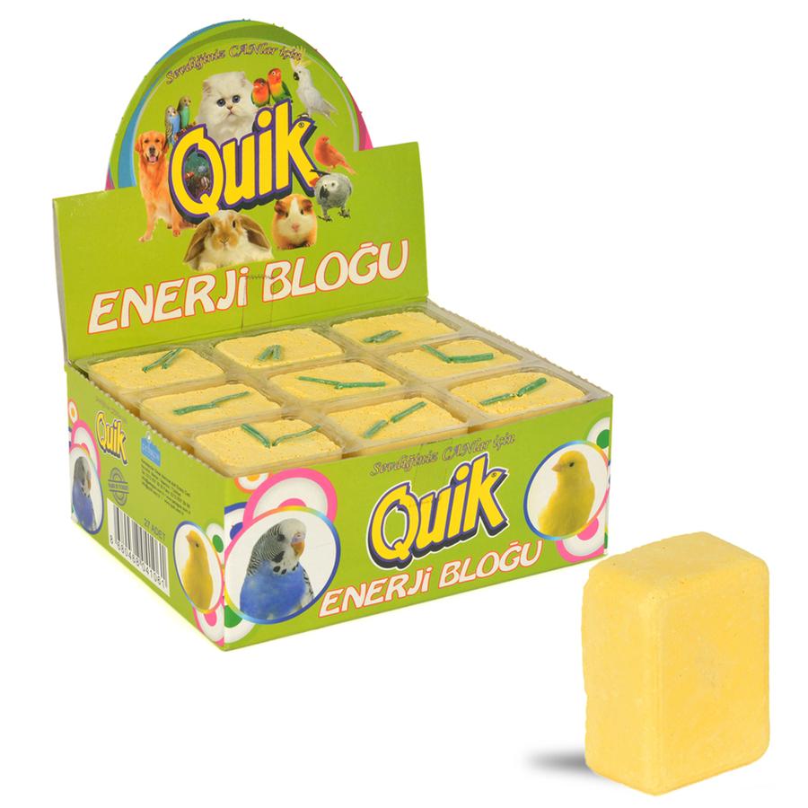 Quik Energy Block Banana (27 PCS) 0.02GRX27PCS