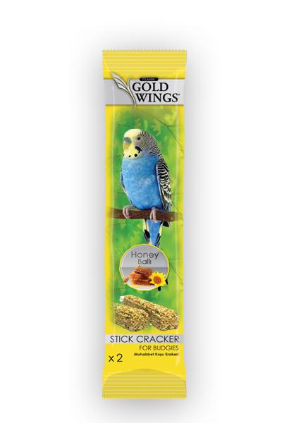 Goldwings Classic Budgie Honey Double Stick (10 pcs) 0.08GRX10PCS