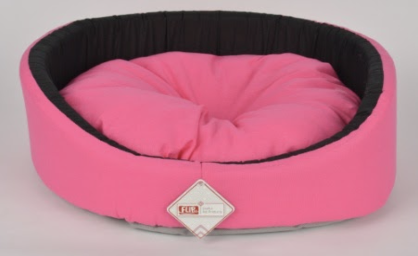 BUTTERFLY RING SHAPED BED PINK 50X16CM