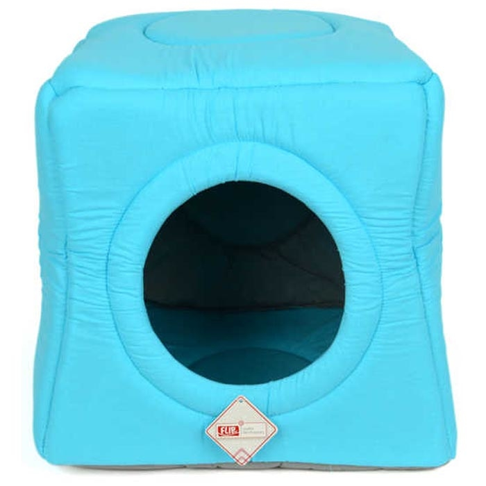 3 FUNCTION BED BLUE 40X40X52CM