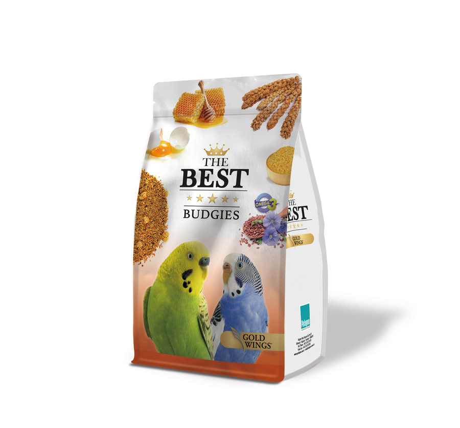 The Best  Budgie Food with honey and eggs 1,25 Kg 4 pcs
