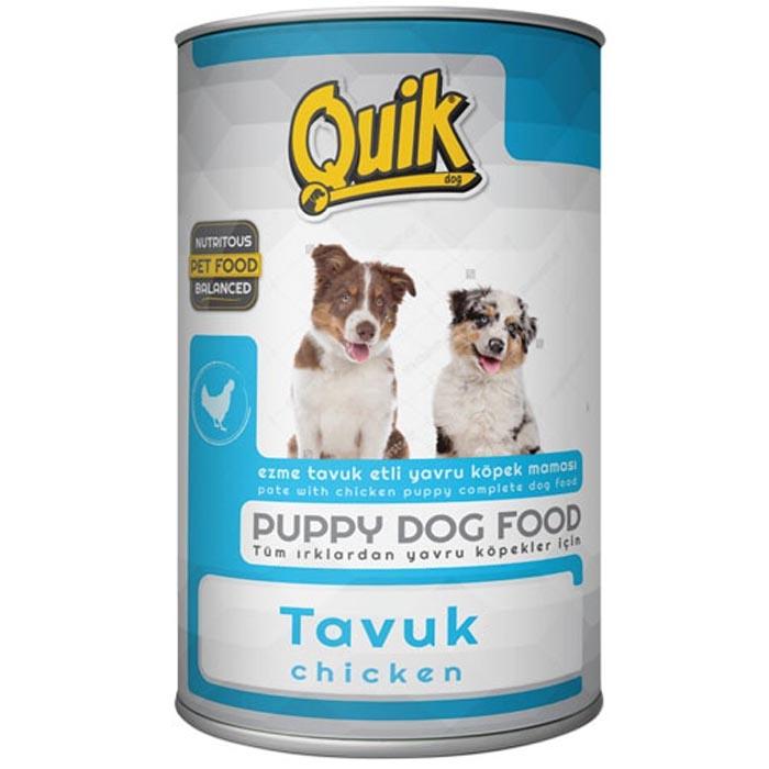 QUICK DOG 400 gr PUPPY CHICKEN  (24Pcs)