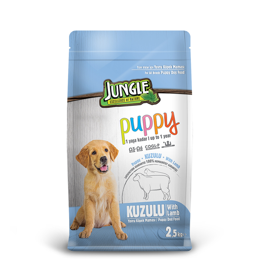 Jungle Puppy Dog Food with Lamb 2,5 kg