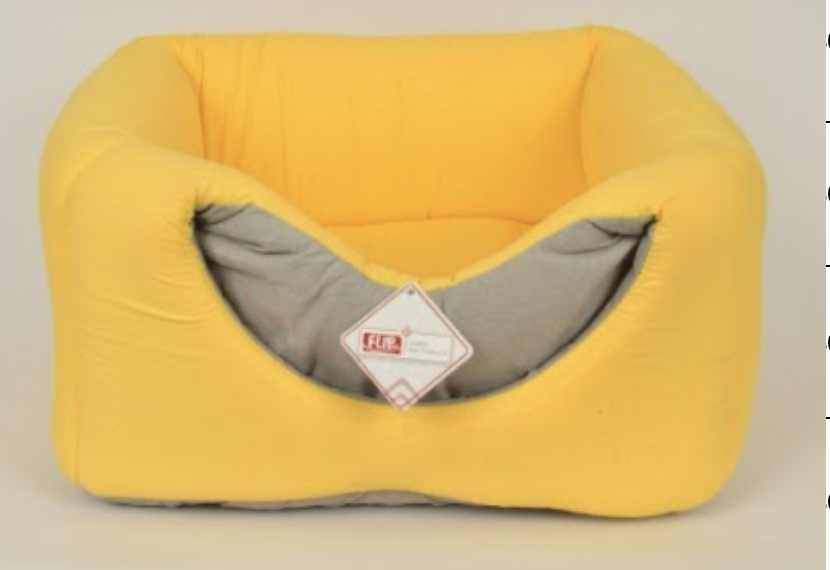 3 FUNCTION BED YELLOW 40X40X52CM