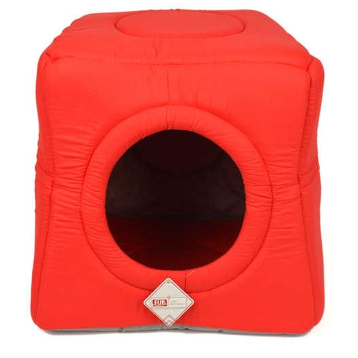 3 FUNCTION BED RED 40X40X52 CM